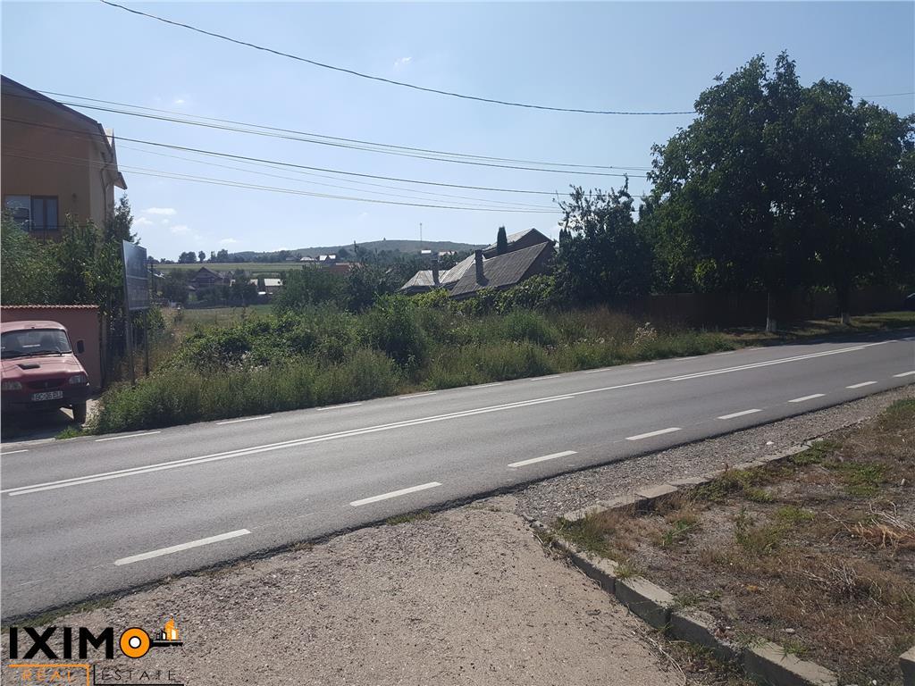 Teren stradal intrarea in Comuna Magura