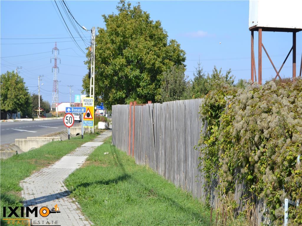 2160 mp intravilan dublu acces E 85  Turn TV Bogdan Voda