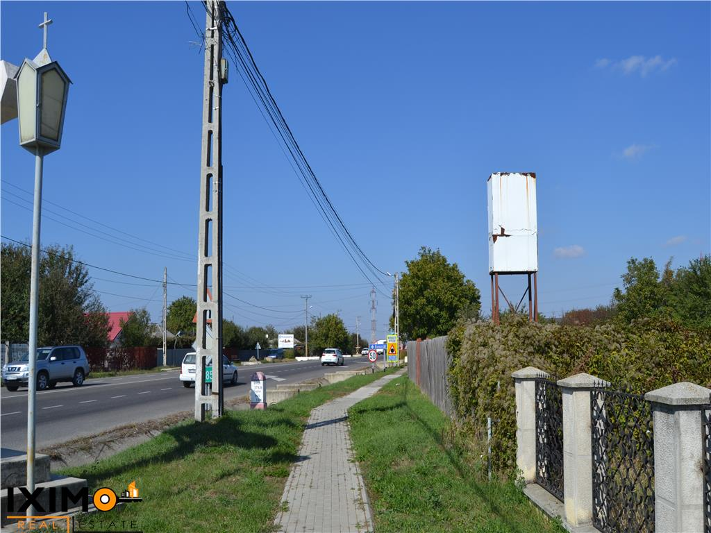 3620 mp intravilan acces E 85  Turn TV Bogdan Voda